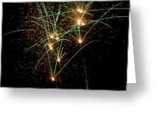 Fireworks Greeting Card by Randy Bayne