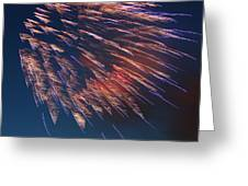 Fireworks Series I Greeting Card by Suzanne Gaff