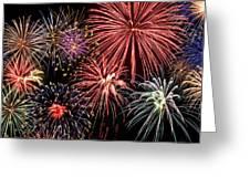 Fireworks Spectacular IIi Greeting Card by Ricky Barnard