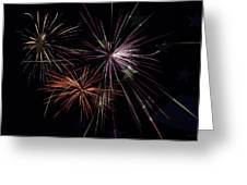 Fireworks With Pride Greeting Card by Christina Rollo