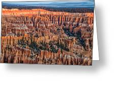 First Light In Bryce Greeting Card by Pierre Leclerc Photography