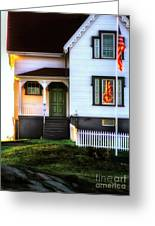 First Light Greeting Card by Scott Thorp