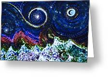 First Star Magic Sky By Jrr Greeting Card by First Star Art