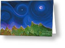First Star Wish By Jrr Greeting Card by First Star Art