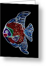 Fish Tales Greeting Card by Shane Bechler