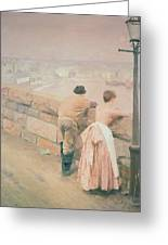 Fisherman St. Ives Greeting Card by Anders Leonard Zorn