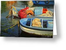 Fisherman's Etude Greeting Card by Kiril Stanchev