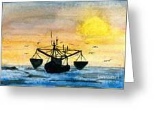 Fishing Tackle Greeting Card by R Kyllo