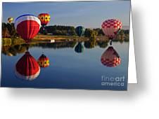 Five Aloft Greeting Card by Mike  Dawson
