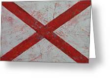 Alabama Greeting Card by Michael Creese