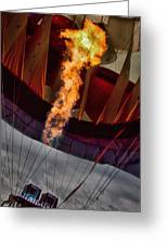 Flame On Two Greeting Card by Bob Orsillo