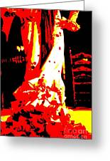 Flamenco Passion Greeting Card by Sophie Vigneault