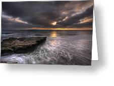 Flatrock Greeting Card by Peter Tellone