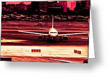 Flight Greeting Card by Arjun Jamil