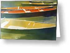 Floaters Greeting Card by Kris Parins