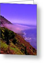Floating Fog Greeting Card by Sharon Costa