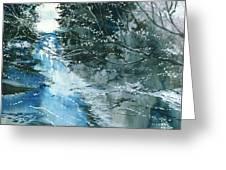 Floods 3 Greeting Card by Anil Nene