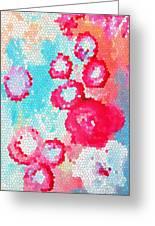Floral IIi Greeting Card by Patricia Awapara