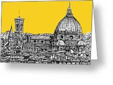 Florence Duomo  Greeting Card by Adendorff Design