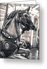 Florence Italy Carousel - 03 Greeting Card by Gregory Dyer