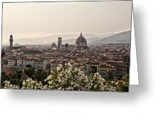 Florence Italy Greeting Card by Melany Sarafis