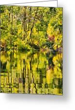 Florida Jungle Greeting Card by Christine Till