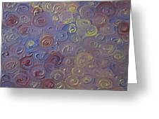 Flow Greeting Card by Cherie Sexsmith