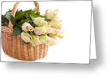 Flower Baskets Greeting Card by Boon Mee