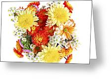 Flower Bouquet Greeting Card by Elena Elisseeva
