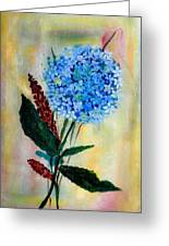 Flower Decor Greeting Card by Nirdesha Munasinghe