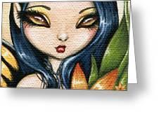 Flower Fairy Kasumi Greeting Card by Elaina  Wagner