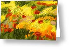 Flower Fantasy Greeting Card by Madeleine Holzberg