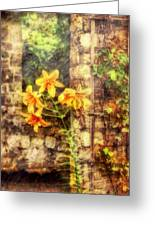 Flower - Lily - Yellow Lily Greeting Card by Mike Savad