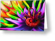 Flowerings Greeting Card by Bruce Iorio
