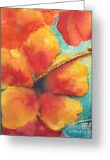 Flowers In Bloom Greeting Card by Chrisann Ellis