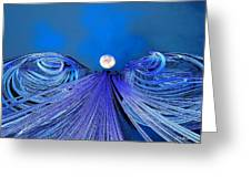 Fly Me To The Moon Greeting Card by Michael Durst