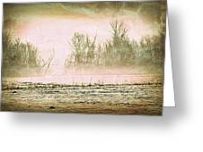 Fog Abstract 1 Greeting Card by Marty Koch