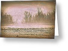 Fog Abstract 2 Greeting Card by Marty Koch