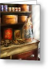 Food - Kitchen Ingredients Greeting Card by Mike Savad