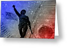 For Freedom Greeting Card by Fran Riley