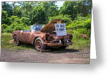 For Sale By Owner Greeting Card by Rick Kuperberg Sr