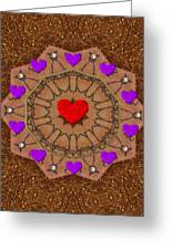 For The Love Of Hearts Greeting Card by Pepita Selles
