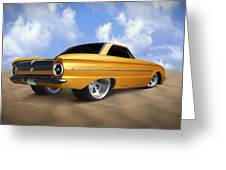 Ford Falcon Greeting Card by Mike McGlothlen
