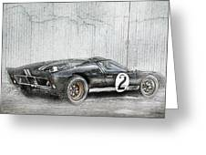 Ford Gt40 Greeting Card by Peter Chilelli