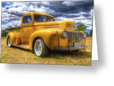 Ford Jailbar Pickup Hdr Greeting Card by Phil 'motography' Clark