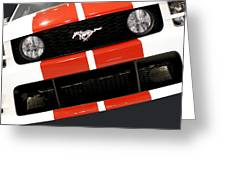 Ford Mustang - This Pony Is Always In Style Greeting Card by Christine Till