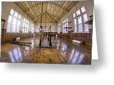 Fordyce Bathhouse Gymnasium - Hot Springs - Arkansas Greeting Card by Jason Politte