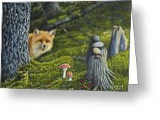 Forest Life Greeting Card by Veikko Suikkanen
