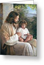 Forever And Ever Greeting Card by Greg Olsen