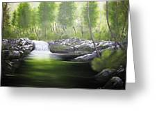 Forever Green Greeting Card by Kevin F Heuman